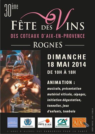 30ème Fête des Vins des Coteaux d'Aix-en-Provence
