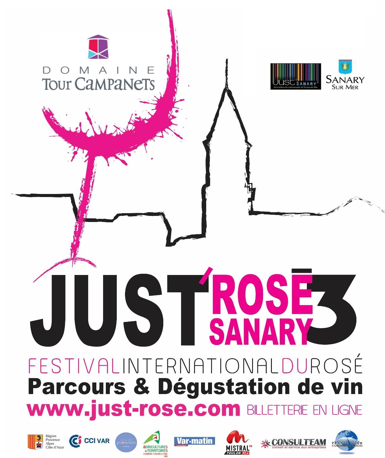 JUST ROSE SANARY le 09 et 10 mai 2015 Stand N° 54
