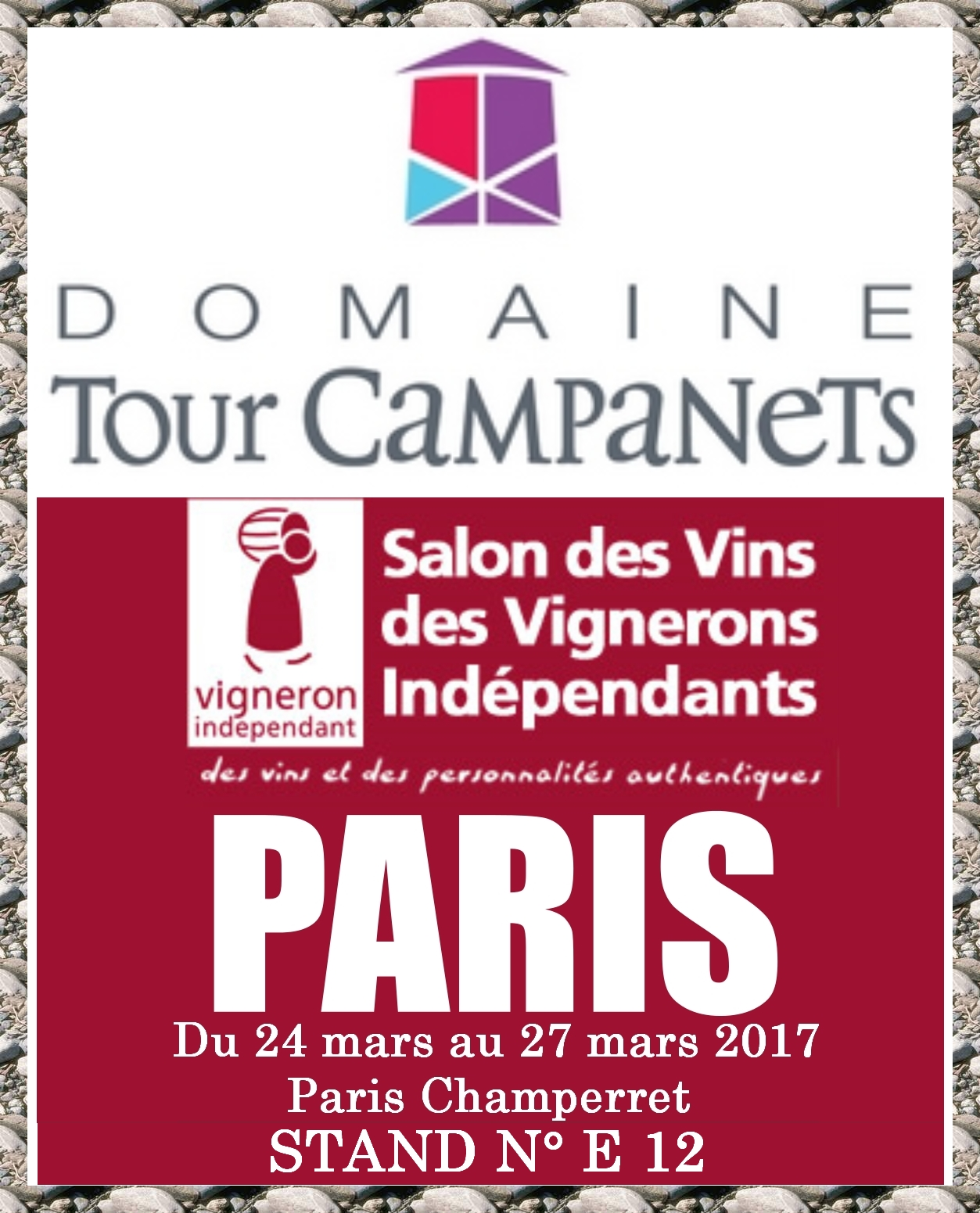 SALON DES VIGNERONS INDEPENDANT PARIS CHAMPERRET 2017