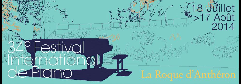 Festival de Piano La Roque d'Aanthéron 2014